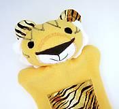 Hračky - Maňuška tigrík - 11644398_