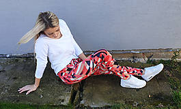 Nohavice - Farebné dámske legíny - 11646785_