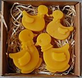 Dekorácie - Veľkonočná krabička (kačičky) - 11645199_