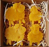 Dekorácie - Veľkonočná krabička (ovečky) - 11645209_