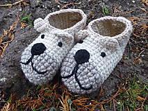 Obuv - papuče macík č.36-37 - 11644436_