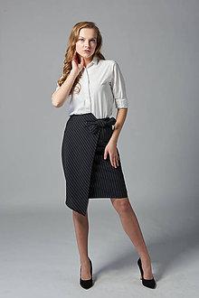 Sukne - Biznis puzdrová sukňa Gabi  - 11645287_