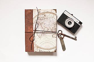 """Papiernictvo - Cestovateľský denník - """" Adventure """" - 11648145_"""