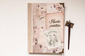 Papiernictvo - Kronika priateľstva / vintage - 11648240_