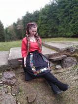 Sukne - Maľovaná sukňa s topom - 11645481_