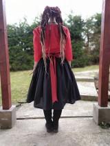 Sukne - Maľovaná sukňa s topom - 11645484_