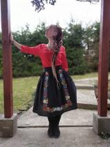 Sukne - Maľovaná sukňa s topom - 11645493_