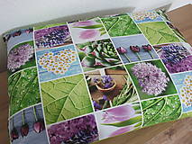 Úžitkový textil - Margarétky.tulipány.levanduľa - 11649084_