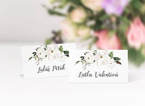 Papiernictvo - Svadobné menovky Olívia - 11650291_
