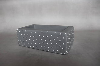 Krabičky - Drevená krabička - 11649198_
