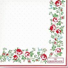 Papier - Servítka  G 70-Gabby White Small - 11649023_