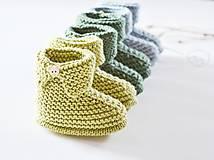 Topánočky - Papučky pre bábätko - chlapčeka - 11650520_