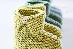 Topánočky - Papučky pre bábätko - chlapčeka - 11650521_