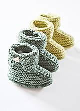 Topánočky - Papučky pre bábätko - chlapčeka - 11650525_