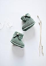 Topánočky - Papučky pre bábätko - chlapčeka - 11650530_