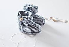 Topánočky - Papučky pre bábätko - chlapčeka - 11650533_
