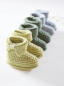 Topánočky - Papučky pre bábätko - chlapčeka - 11650522_