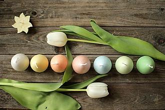 Svietidlá a sviečky - Veľkonočné vajíčka - SADA na objednávku - 11651792_