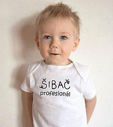 Detské oblečenie - tričko pre profesionálneho šibača - 11649542_