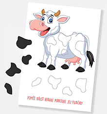 Hračky - Hra - kravičkine fliačiky - 11650565_