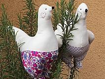 Dekorácie - ešte dve sliepočky.... - 11648889_
