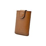 Kožený obal na karty s RFID ochranou horčicový