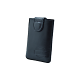 Kožený obal na karty s RFID ochranou čierny