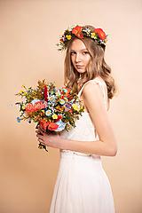 """- Svadobná kytica """"za rána, za rosy"""" - 11653985_"""