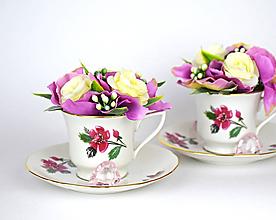 Dekorácie - Šáločka kávy - 11652609_