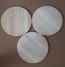 Polotovary - drevený kruh na dotvorenie - 11652644_