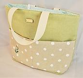 Iné tašky - Kabelotaška výšivka KAKTUS - 11654314_