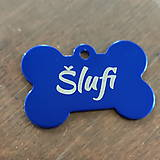 Pre zvieratká - Známka pre psa MIDI kosť - 11653856_