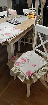 Úžitkový textil - Podsedáky s volánom - 11651917_