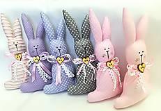 Dekorácie - Veľkonočný zajačik - 11654591_