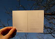 Papiernictvo - pohľadnica: L í š k a dáva dobrú noc - 11656370_