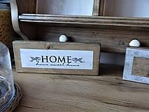 Tabuľky - Drevená tabuľka - 11657400_