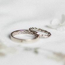 Prstene - Zlaté filigránové obrúčky - Splynutie - 11657939_