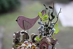 Dekorácie - Veľkonočná dekorácia - 11656549_