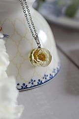 Náhrdelníky - Náhrdelník Chryzantéma kruh (2849 C CHO) - 11656977_