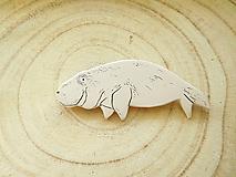 Odznaky/Brošne - Dugong brošňa - 11659186_