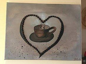 Obrazy - Milujem kávu - 11658493_
