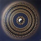 SPIRITUALITA (gold-black) 60 x 60