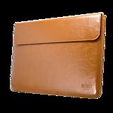 Kožené puzdro na tablet / notebook Whiskey Aroma horčicové