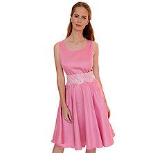 Šaty - Rachel - luxusné šaty z bavlneného saténu - 11655553_
