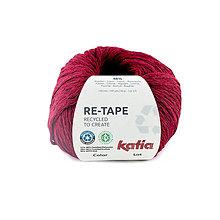 Galantéria - KATIA priadza Re-Tape - recyklovaný morský plast - 11656117_