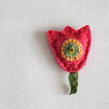 Odznaky/Brošne - Pink - 11658343_