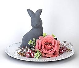 Dekorácie - Dekorácia - so zajkom - 11656218_