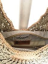 Kabelky - Háčkovaná kabelka Colosseum. - 11658087_