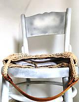Kabelky - Háčkovaná kabelka Colosseum. - 11658090_