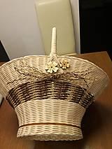 Košíky - Košík s rúčkou - 11659049_